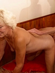 She&quots old, but slick and just loves to eat dick