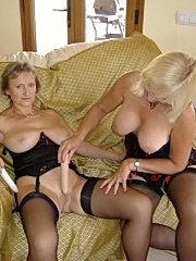Mature couple's oral games and gangbang
