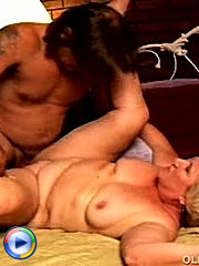 Drunken older babe was so engrossed with passion that she didn't want to let the cock go