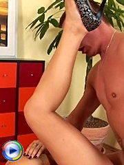Chubby housewife takes a rough fucking