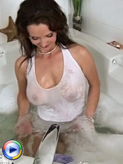 A young girl has just reached adulthood and a mature woman is looking to teach her some practical tricks. you never know when you are gonna have sex with another woman, so you better be prepared. the milf will teach all her tricks to her young student and