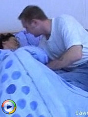 Horny milf gets a good morning hardcore fuck from a young stud