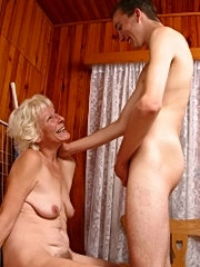 Nasty mom licking asshole