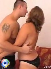 Busty mature housewife gets fucked like a slut by a young dick