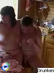 Pervert guy dreamed about his mature neighbor and when she was drunk he easily persuaded her to have a fuck with him