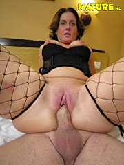 Horny milf sucking and fucking her ass off