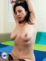 Perverted old bitch with massive tits kinky car sex