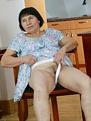 Grandma is such a naughty slut