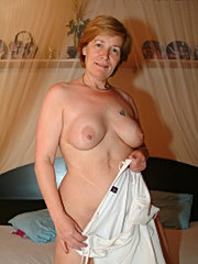 Mature curly old standing doggy penetration mature