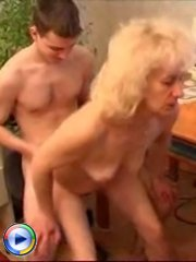 Young dude gets his pants down by his best friend's horny mom