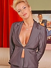 Big titted mature milf is rough banged
