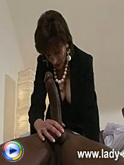 Black monster cock suck
