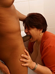 Gag on my cock you slut