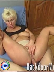 Mature woman anal fisted and fucked