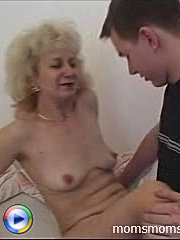 Younger gigolo pleasures an experienced mature lady