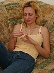 Sexy finger licking good mom exposing perfect tits and ass