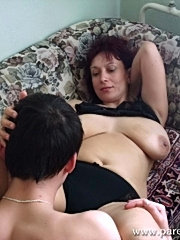 Gorgeous mature lady getting fucked hard.